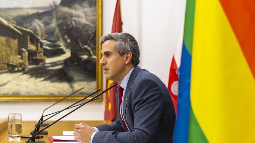 El vicepresidente y portavoz del Gobierno de Cantabria, Pablo Zuloaga. | MIGUEL DE LA PARRA