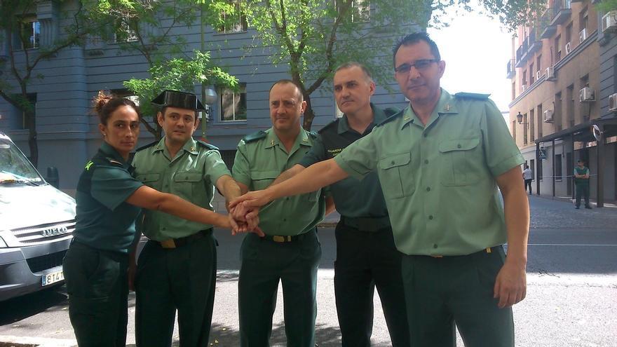 Guardias civiles se manifestarán mañana en Madrid para reivindicar sus derechos laborales