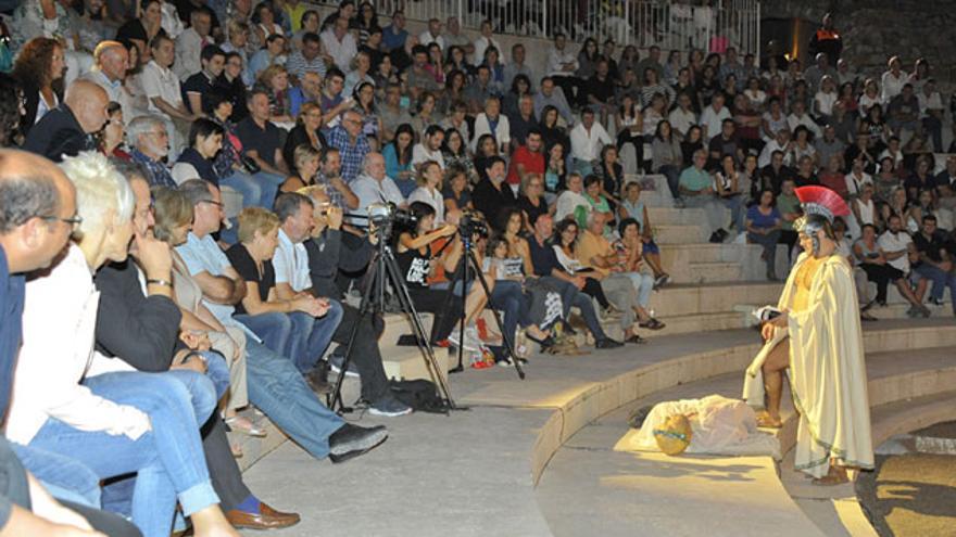 Una representación teatral durante el festival