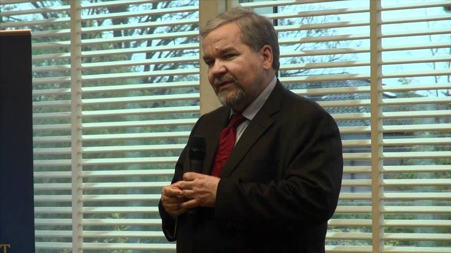 Zimmermann en una conferencia en Ginebra en 2012