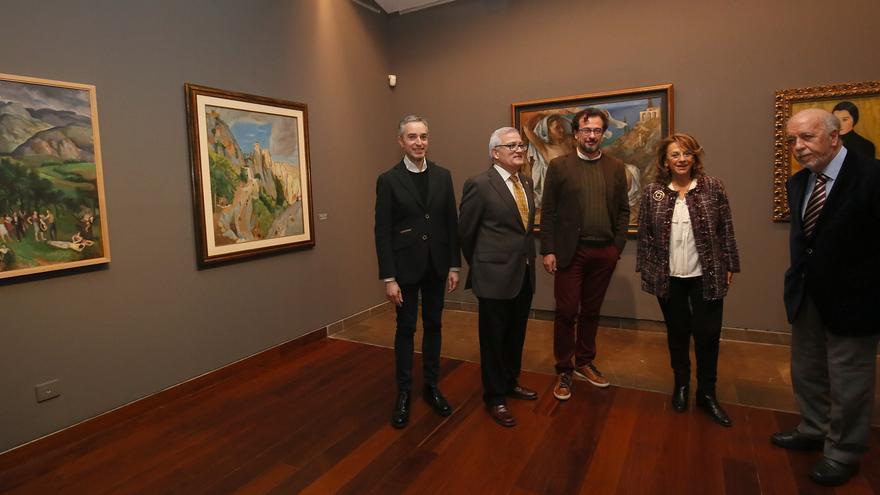 Inauguración de la exposición sobre Emilio Varela en el MUBAG