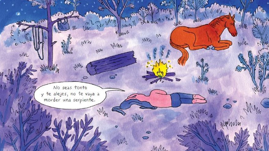 Viñeta Coyote Doggirl