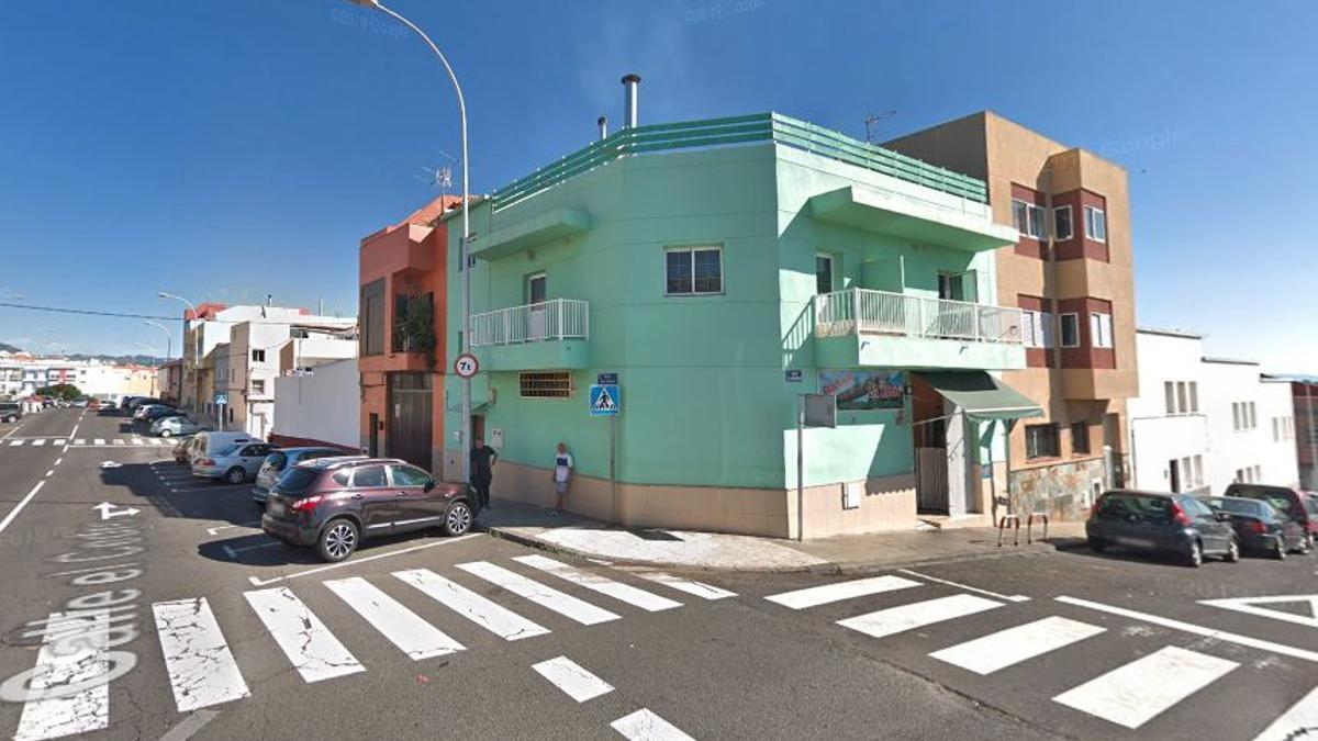 Confluencia entre la calle El Requinto y El Cedro en Santa Cruz de Tenerife