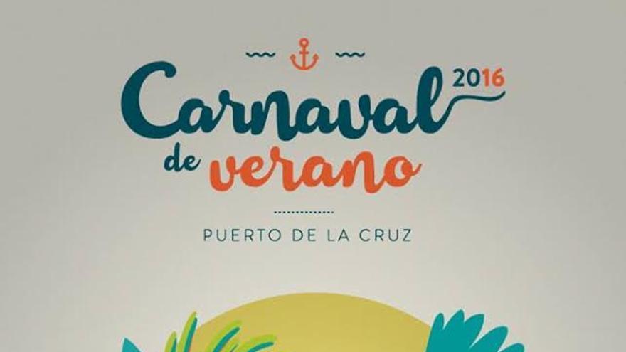Cartel del Carnaval de Verano 2016
