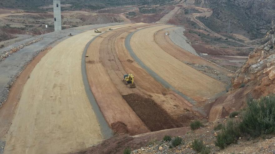 Las obras en Mularroya se reanudaron hace unos meses por decisión del Ministerio de Medio Ambiente