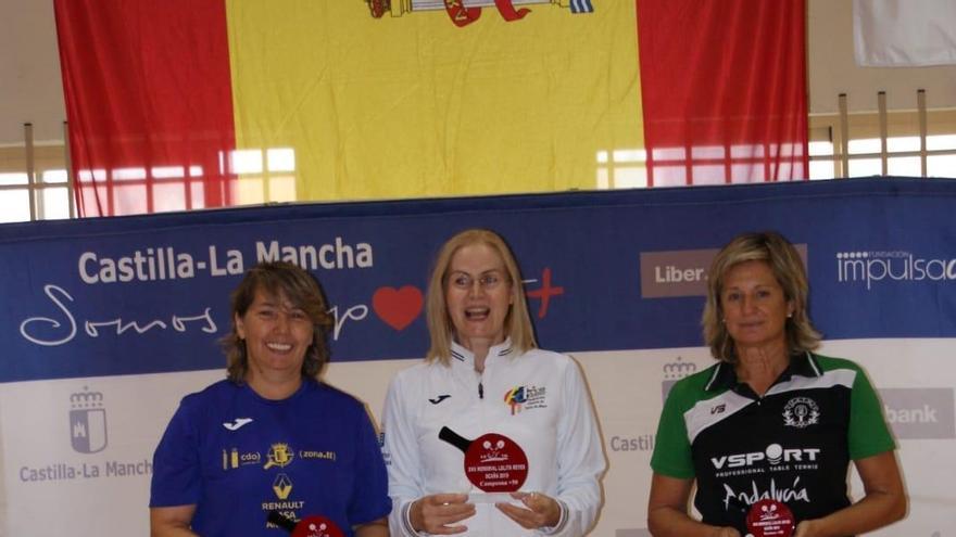 María Vintila, de Círculo, campeona en la categoría de 50 años.