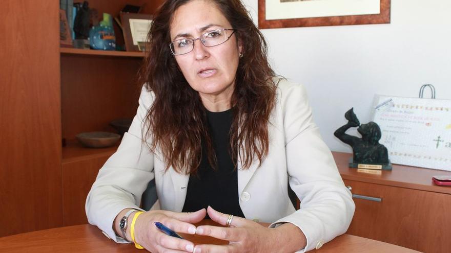 Elena Fumero, alcaldesa de Arico, de CC
