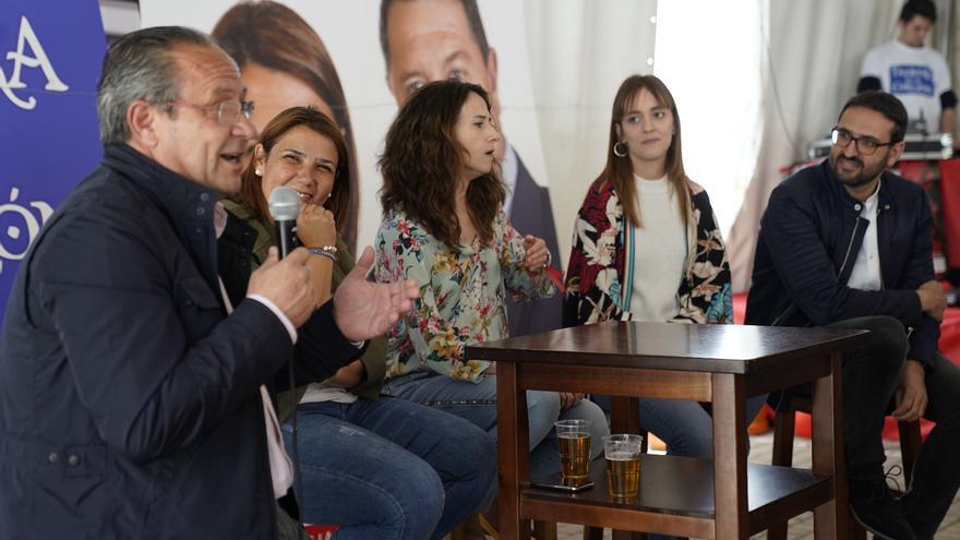 Acto del PSOE en Talavera de la Reina FOTO: PSOE CLM