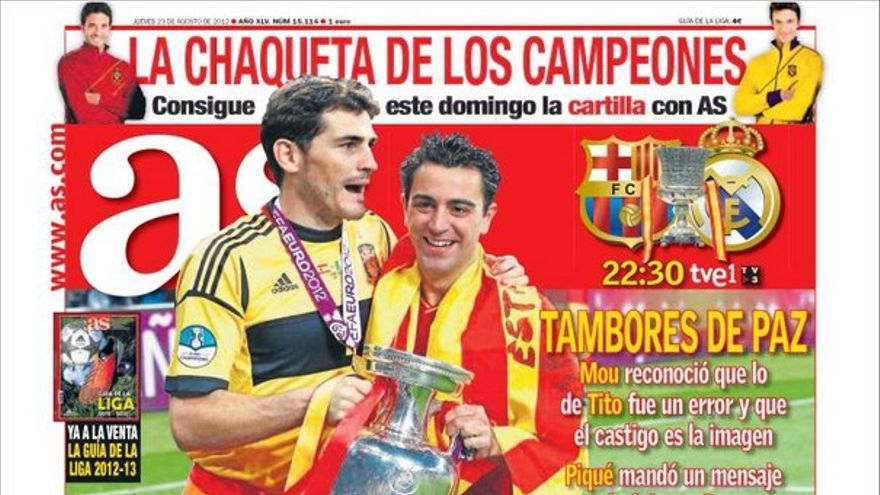 Las portadas del día (23/08/2012) #12