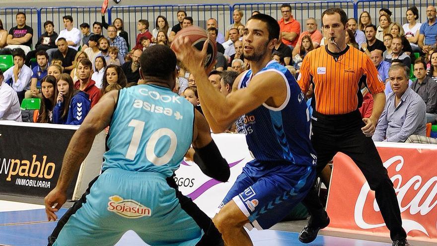Álex López ha sido clave en el ascenso y permanencia del Burgos en Liga ACB
