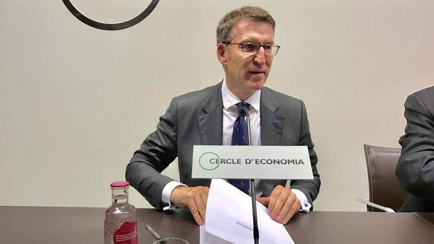 """Feijóo pide diálogo sin líneas rojas con Cataluña: """"La ley no puede ser obstáculo para la empatía"""""""