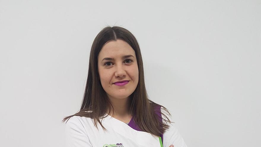 Vanesa García Tauste, ganadora del premio 'Mujer Rural'. Foto cedida
