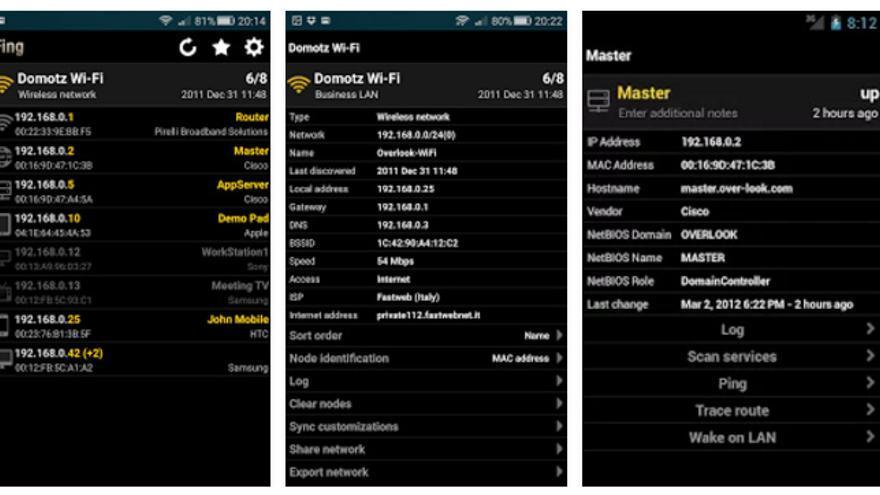 Fing es una 'app' muy útil para detectar intrusos en nuestra red