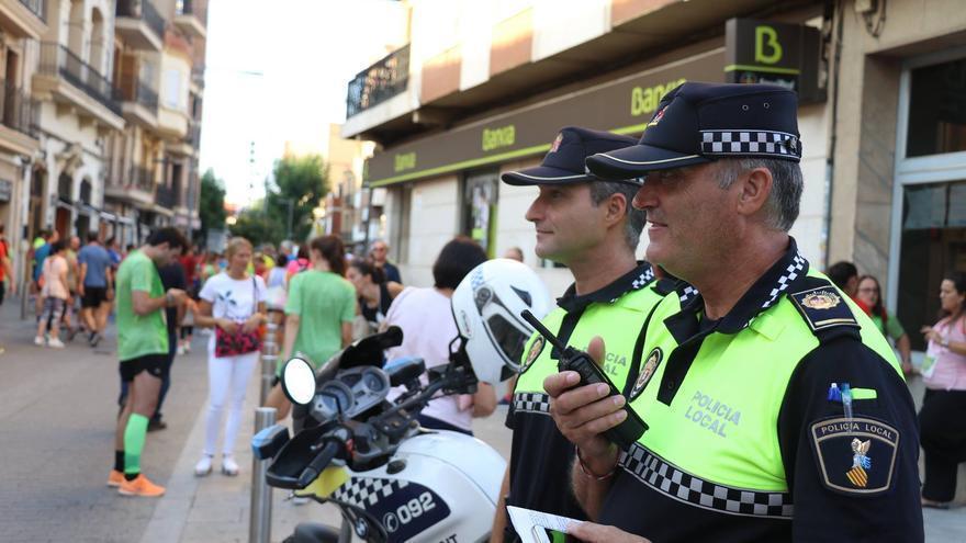 Dos agentes de la Policía Local de Torrent