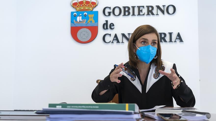 Paula Fernández (PRC), consejera de Presidencia, Interior, Justicia y Acción Exterior del Gobierno de Cantabria.