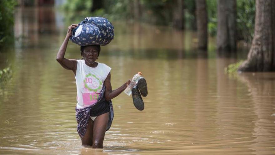 Unos 10.000 haitianos siguen desplazados por las inundaciones tras el efecto de Irma