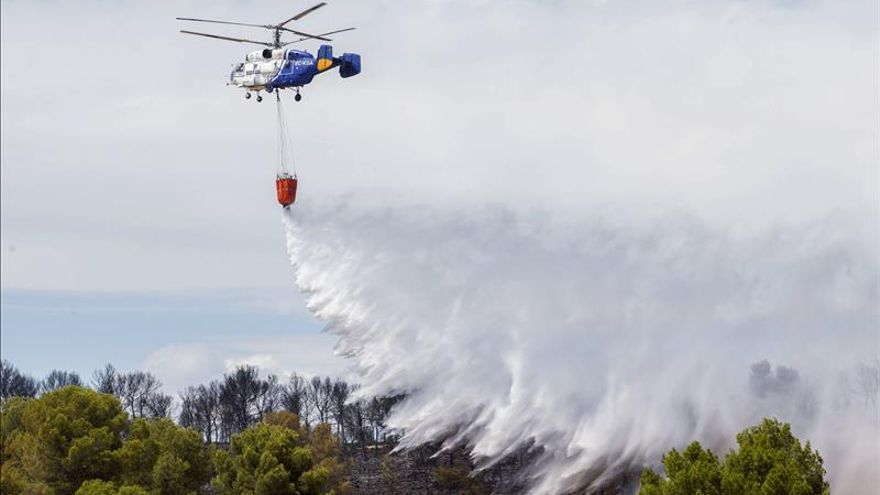 El incendio en Calasparra está estabilizado y se investigan las causas