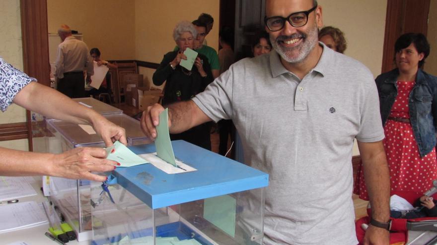 Juan Manuel Brito, candidato de Podemos al Cabildo grancanario.