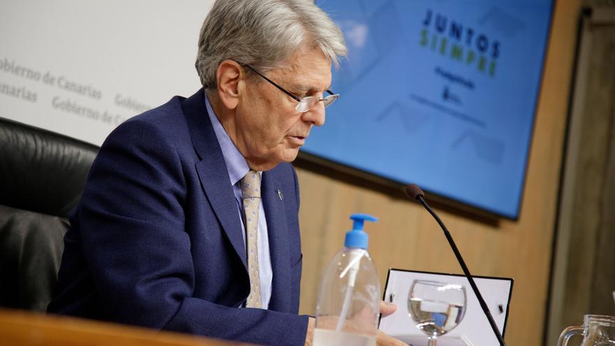 Julio Pérez, portavoz del Gobierno de Canarias.