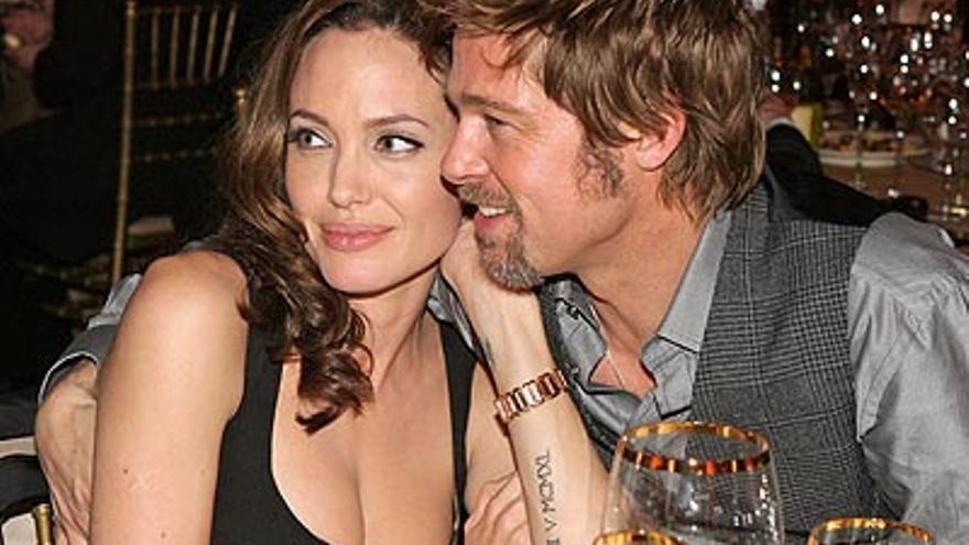 Brad Pitt y Angelina Jolie cumplen 10 años juntos: así ha evolucionado su relación