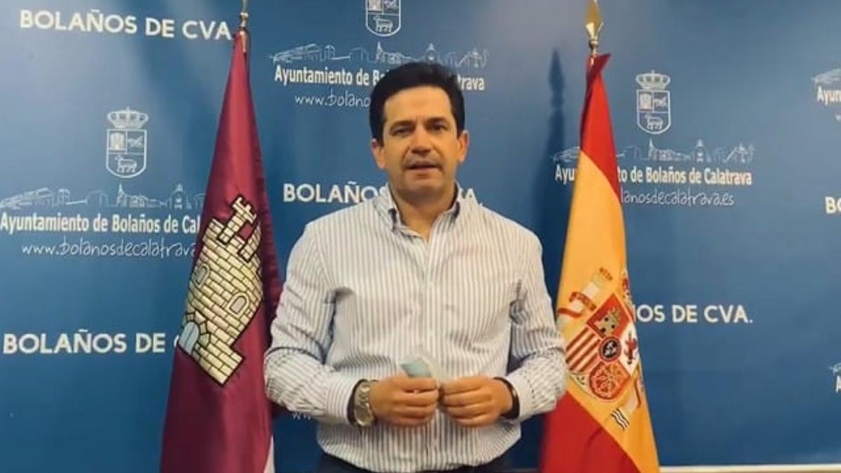 Miguel Ángel Valverde, alcalde de Bolaños de Calatrava