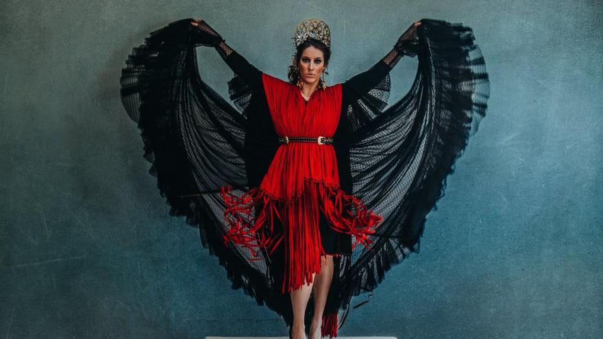 Cantante de flamenco, Argentina María López.