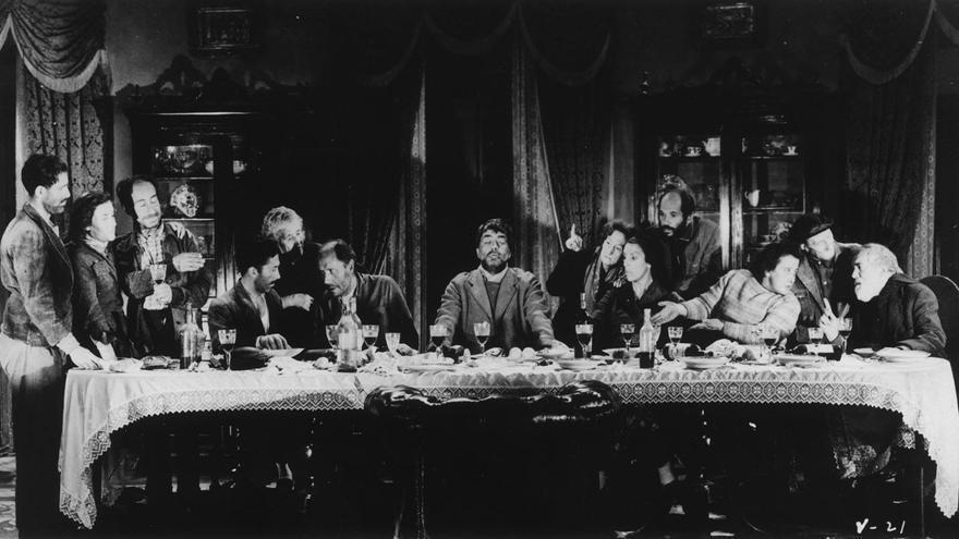 La última cena de los mendigos. | Films 59 - UNINCI - Producciones Alatriste