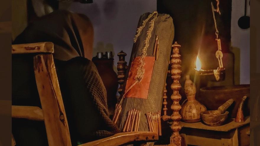 Diferentes artesanos se reúnen este sábado en el Museo Casa Labriega de la Serena, en Valle de la Serena