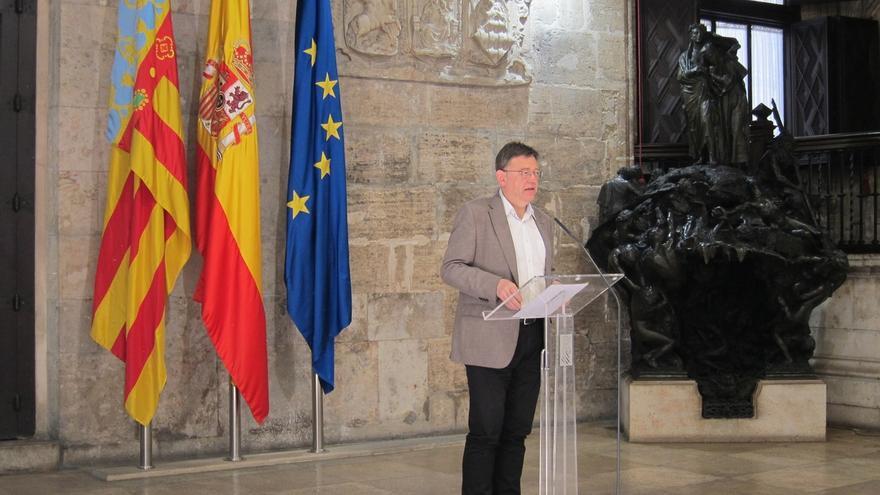 """Puig asegura que la Constitución """"se puede y se debe reformar"""" y pide salir así """"del atasco monumental que vive España"""""""