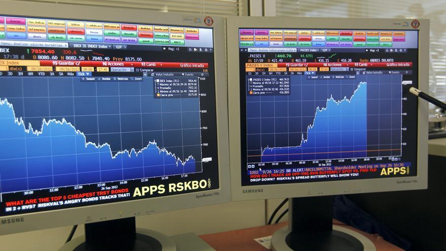 La prima de riesgo sube a 463 puntos y el bono sigue por encima del 6 por ciento