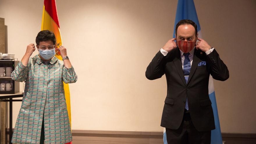 Cancilleres de España, Guatemala y Honduras tratan apoyo español por COVID-19