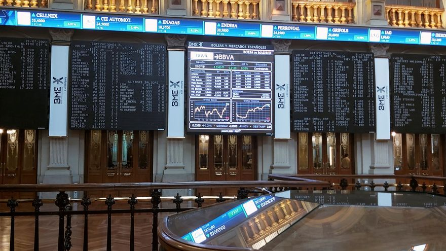 La Bolsa española sigue al alza y se centra en los 8.500 puntos