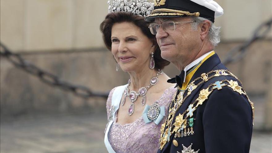 Los reyes de Suecia visitan el Congreso de EE.UU. en su gira por la costa Este
