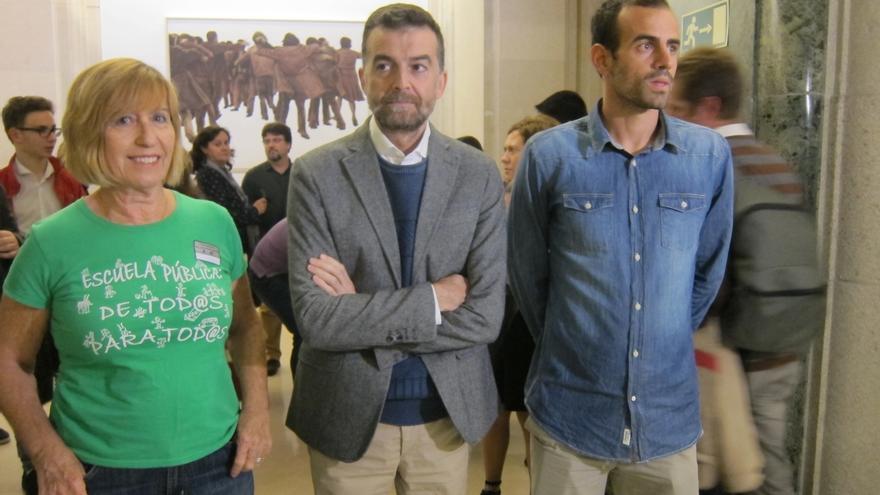 """Maíllo pide paralizar la Lomce con movilización frente a la """"contradicción"""" de PSOE al """"apuntalar"""" a PP en el Gobierno"""