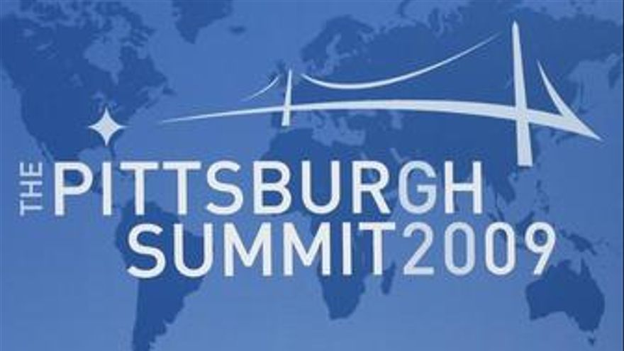 Durao Barroso con Obama en Pittsburgh