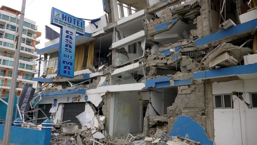 El noroeste de Ecuador registra once nuevas réplicas del terremoto de abril