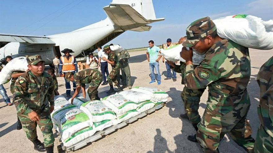 Bolivia envía once toneladas de ayuda a damnificados por terremoto en México