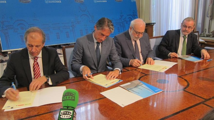 Firmados los convenios para la creación de un centro de startups, que echará a andar en octubre