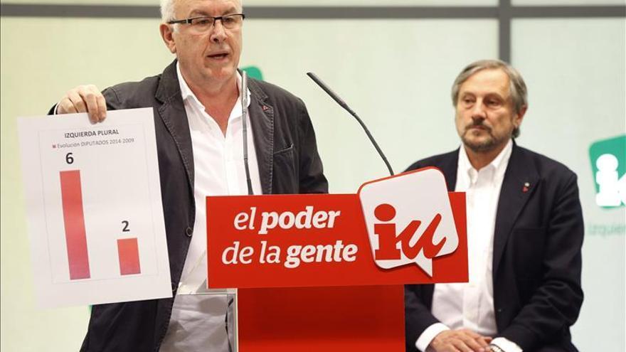 IU llama a confluir a toda la izquierda, incluido Podemos, contra el bipartidismo