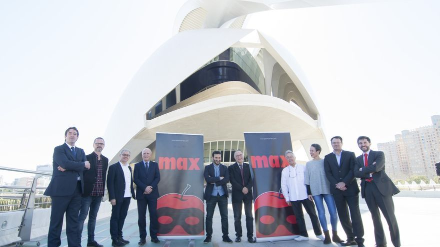 Presentación de los Premios Max en el Palau de les Arts