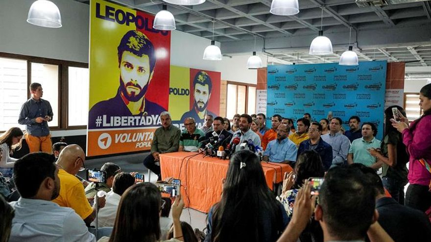 La oposición venezolana rechaza y considera ilegal el procedimiento contra Guevara