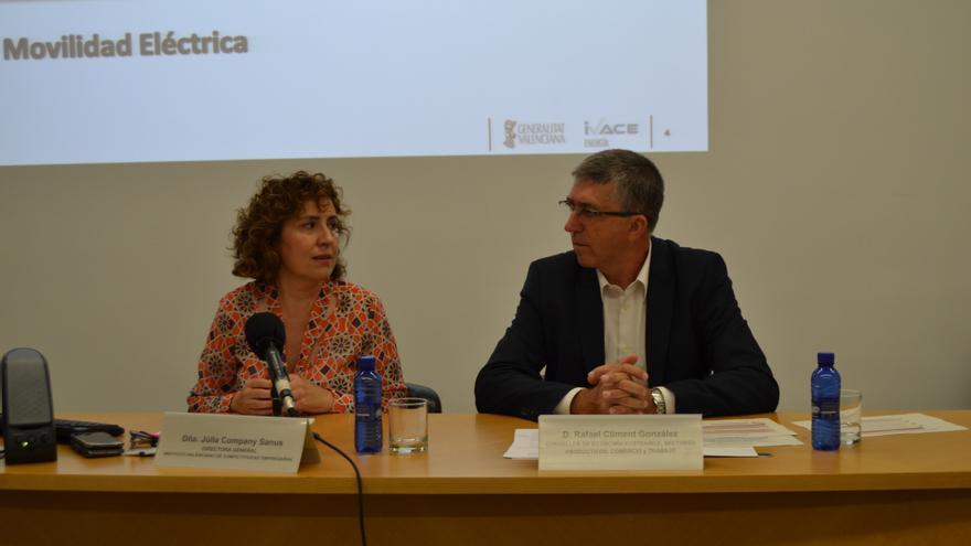 Júlia Company y Rafa Climent han presentado el plan