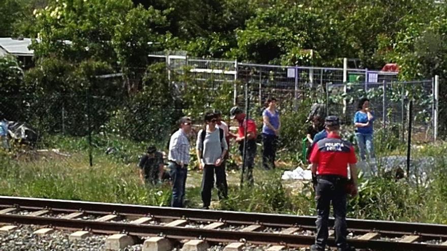 Fallece una menor arrollada por el tren en Berrioplano