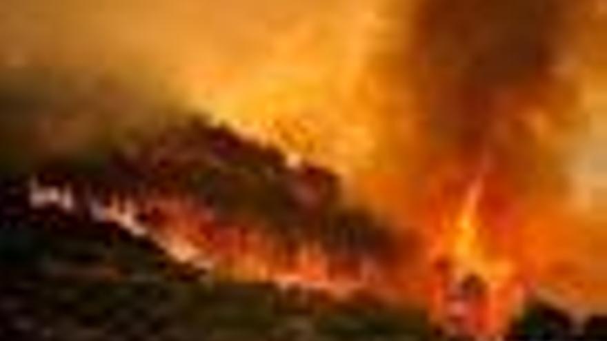 Simulacro de incendio en la Moncloa