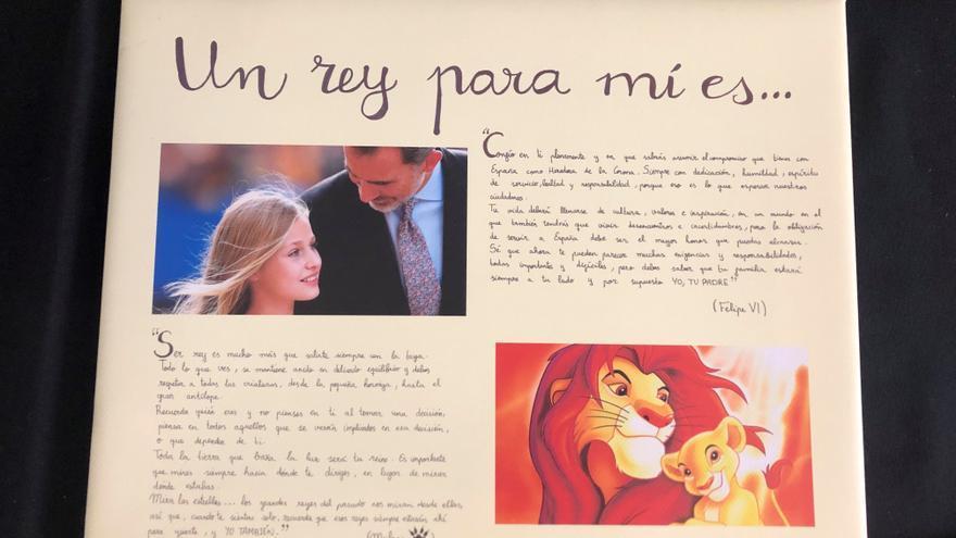 """La princesa Leonor, protagonista por primera vez de """"¿Qué es un rey para ti?"""""""