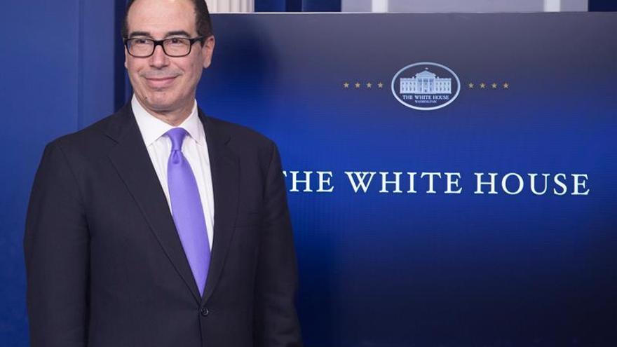 """Tesoro de EEUU: Reforma fiscal se desvelará """"pronto y se pagará por sí sola"""""""