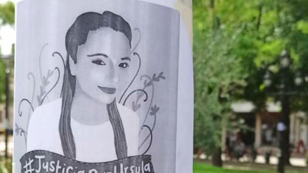 El dibujo de Úrsula rodea a la Comisaría de la mujer de Rojas.
