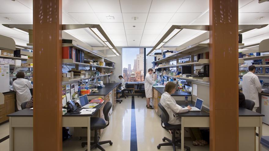 Laboratorio de investigación del Memorial Sloan Kettering Cancer Center