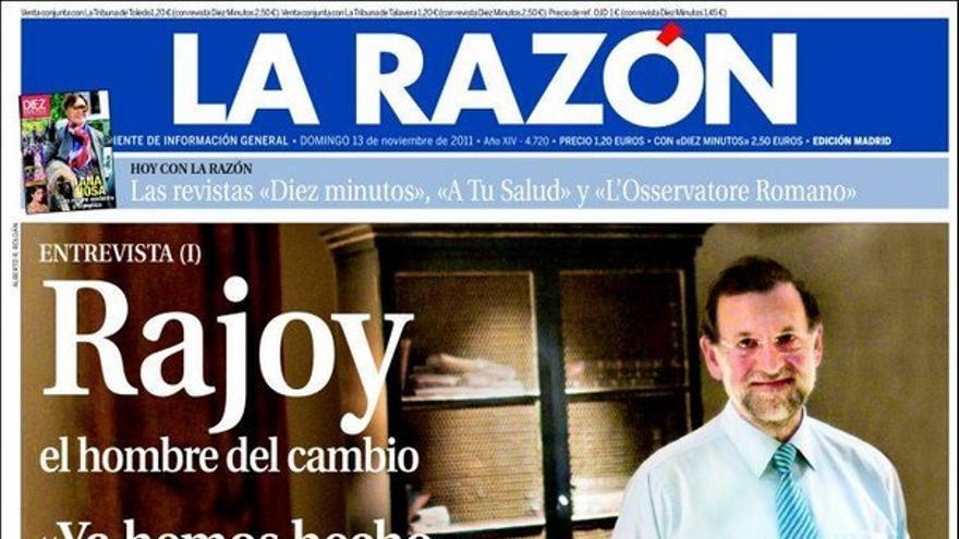 De las portadas del día (13/11/2011) #10
