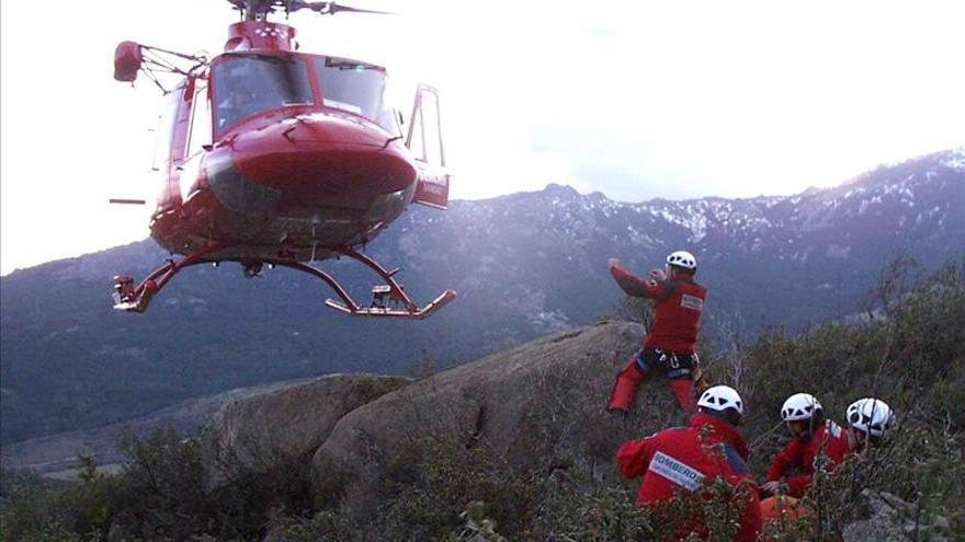 Localizado el montañero que desapareció ayer en la Sierra de Guadarrama